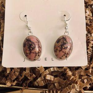 🍭BUY 1 GET 1 FREE🍭 🆕 Pink Resin Drop Earrings